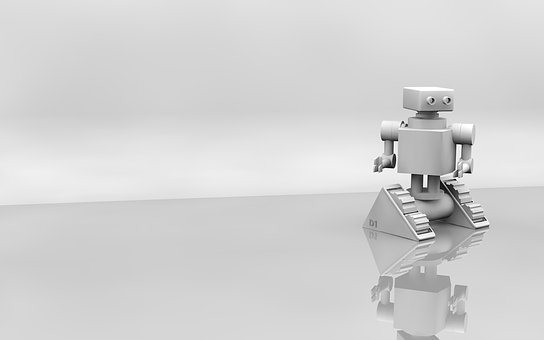 Robot, 3D, Print, Wallpaper, Ai, Machine