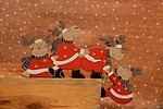 deer, holidays, christmas decoration