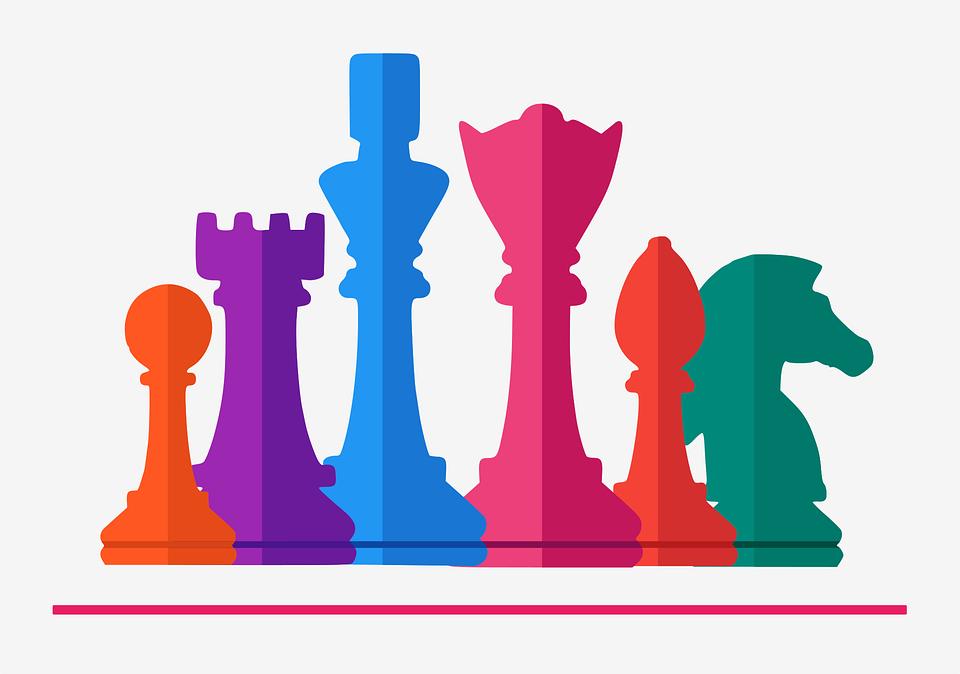 Ultramoderne Skak Spil Bord - Gratis vektor grafik på Pixabay FB-68