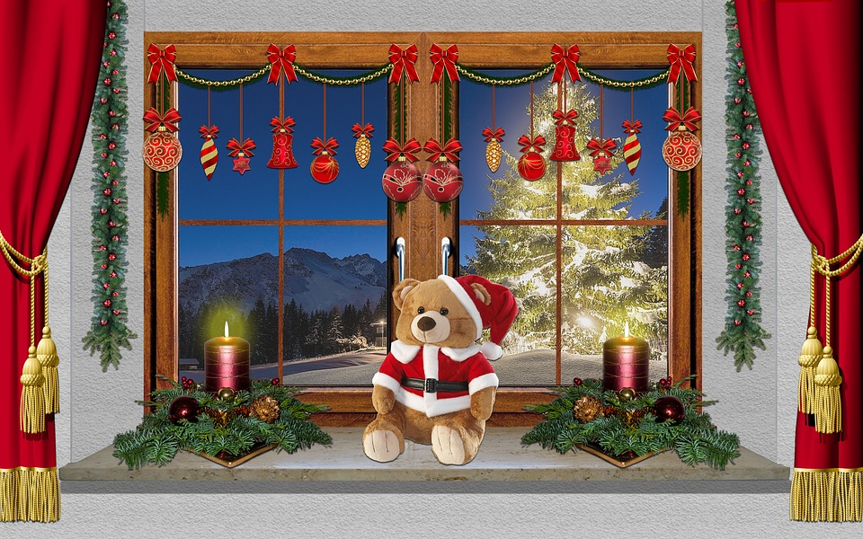 Christmas Window Decoration 183 Free Photo On Pixabay