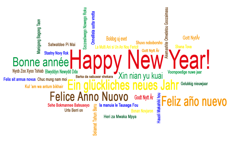New Year\'S Day Greetings Isolated · Free image on Pixabay