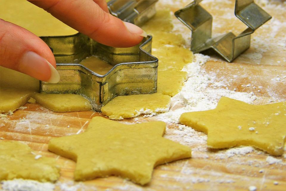 Eggless cut out sugar cookies