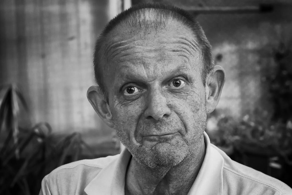 man portrait black and white free photo on pixabay