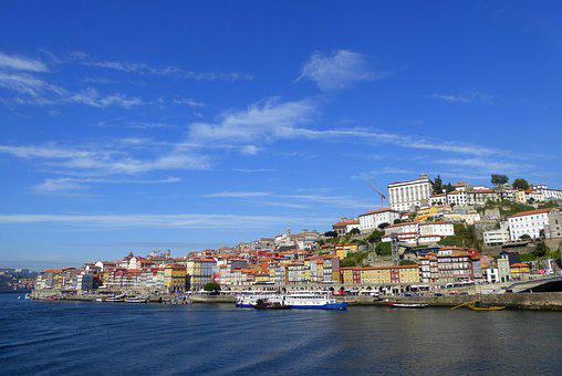 Porto, Panorama, Old Town, Sky, Summer