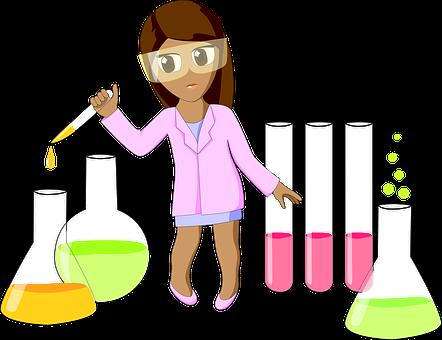 Chemia, Laboratorium, Rury, Żarówka