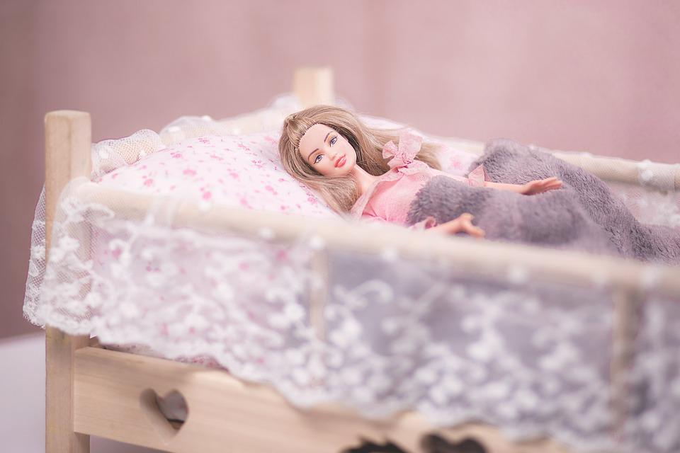Barbie  Bed  Blond  Blonde  Child  Children  Doll. Free photo  Barbie  Bed  Blond  Blonde  Child   Free Image on