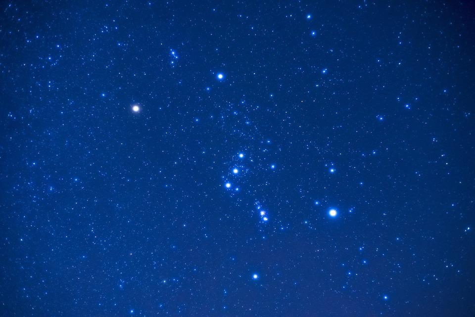 オリオン, 泊, 星, 星座
