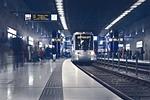 metro, underground, station