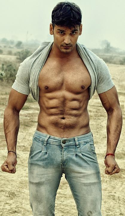 六つのパック, 胸, フィットネス, 胴体, スポーツ, 筋肉, 適合, 6, 運動選手, 体, 男, 筋