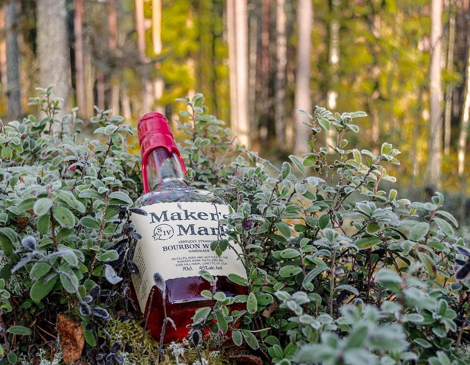 Whiskey, Makers Mark, Bourbon, Corn Whiskey