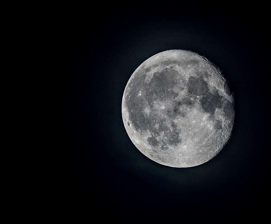 Très Photo gratuite: Lune, Clair De Lune, La Pleine Lune - Image  DR08