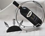 wine bottle, bottle holder, closure