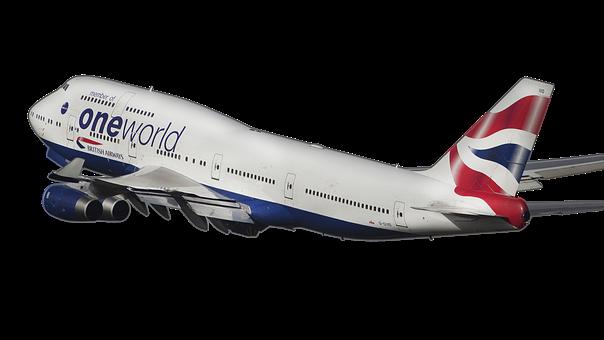 Airline, Airplane, B-747, Plane Aircraft