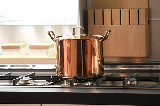 Pot, Copper, Cook, Kitchen, Tradition