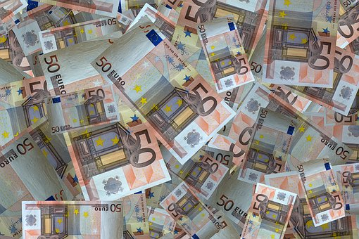 Argent, Billet De Banque, Euro, Monnaie