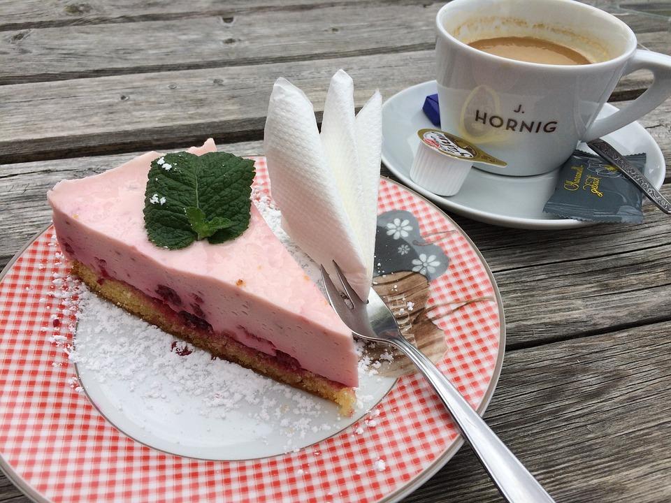Kaffee Torte Kuchen Kostenloses Foto Auf Pixabay