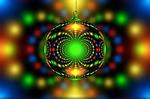 christmas, fractal