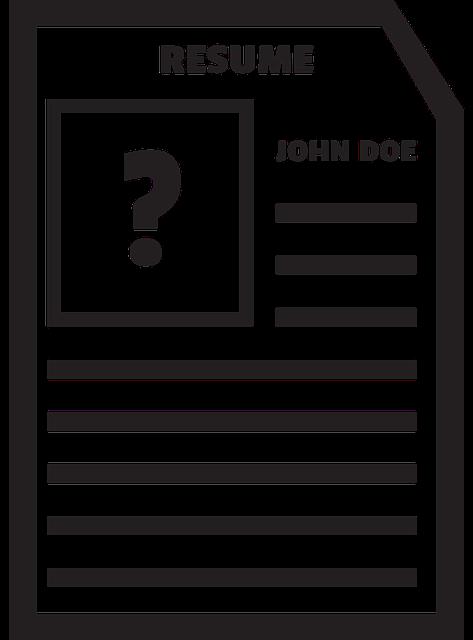 black john doe resume bio  u00b7 free image on pixabay
