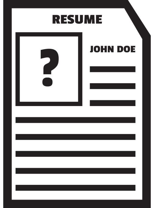 black john doe resume bio  u00b7 free image on pixabay