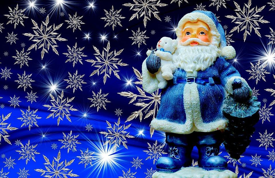 christmas santa claus blue free photo on pixabay. Black Bedroom Furniture Sets. Home Design Ideas