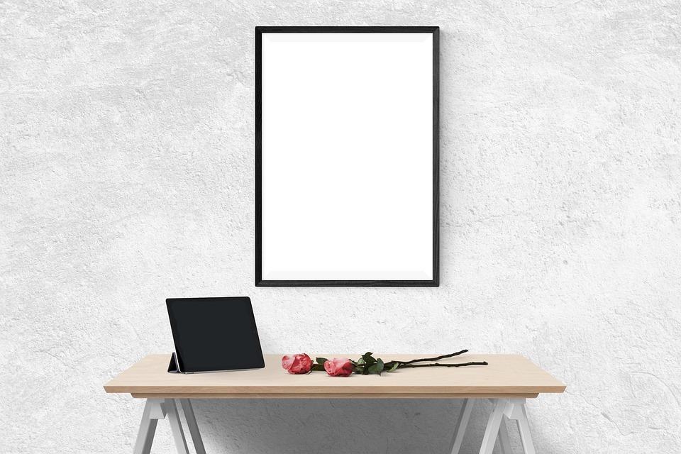 Cartel Maqueta La Pared · Foto gratis en Pixabay