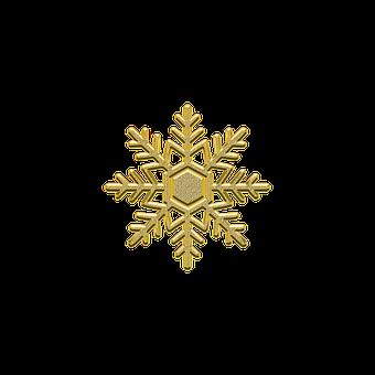 Ozdoba, Dekoracje, Płatek Śniegu, Śnieg
