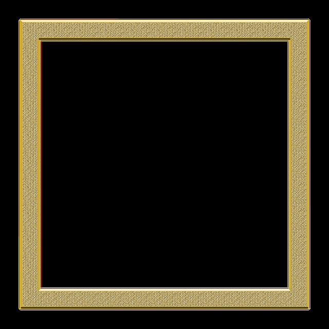 Frame Golden Transparent · Free image on Pixabay