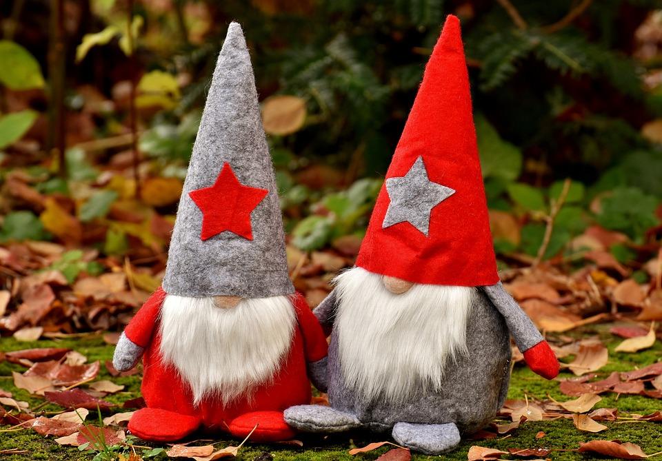 Wichtel Paar Figuren Kostenloses Foto Auf Pixabay