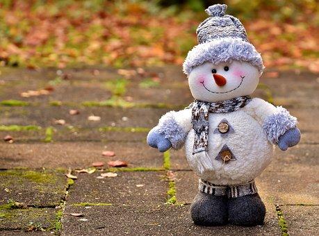 Schneemann, Figur, Weihnachten