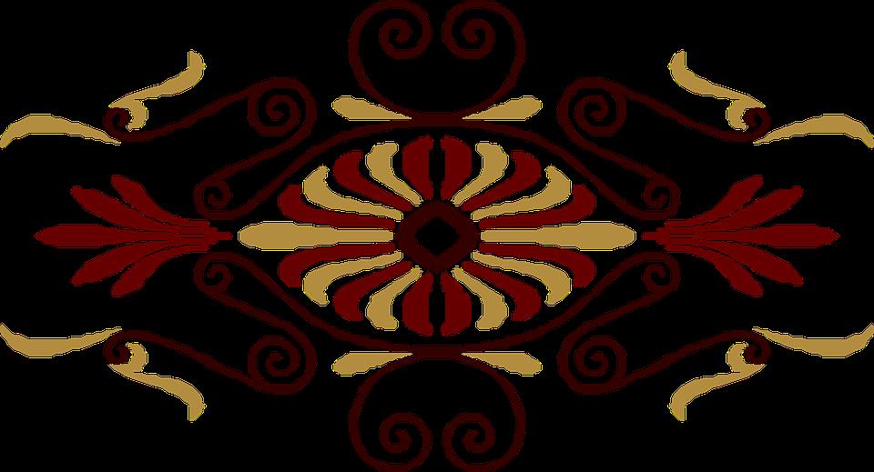 Vintage Art Deco Design Pattern Decoration Retro