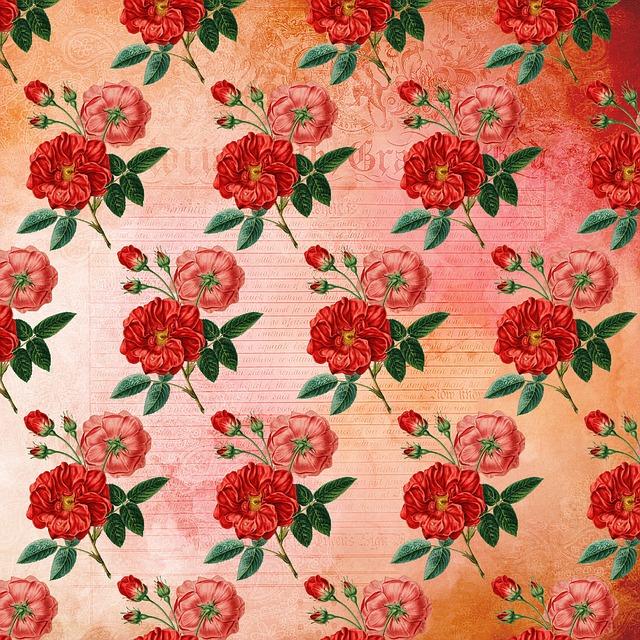 Bunga Pola Kertas Gambar Gratis Di Pixabay