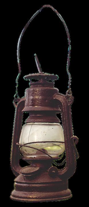 Kerosene Lamp Old Wire Mesh Light Lantern