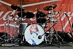 drum set, drums, drummer