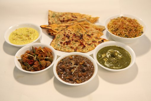 Indian Food, Thali, Vegetarian Food