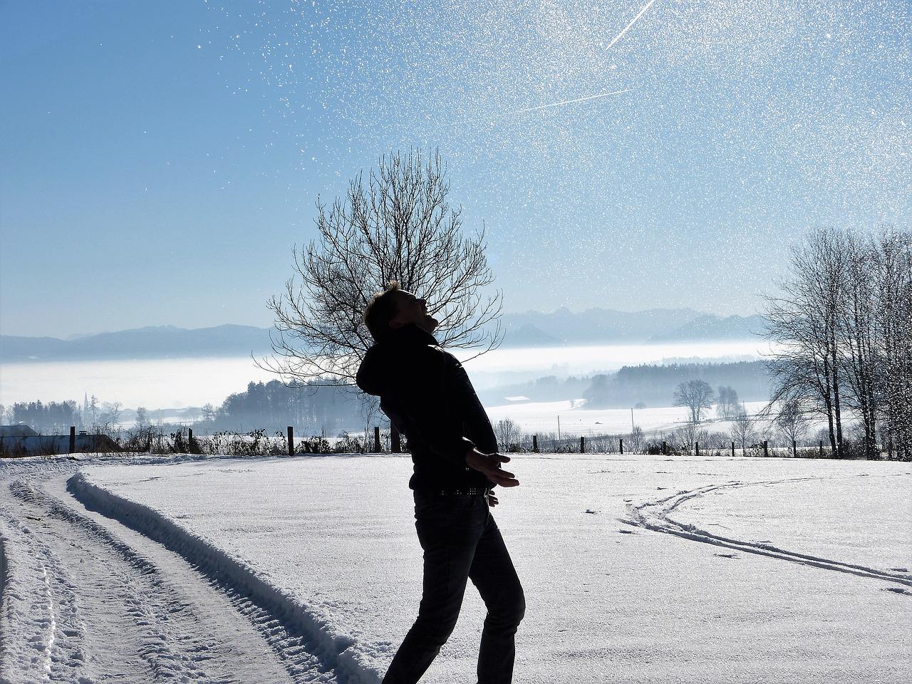 Картинки зима природа люди