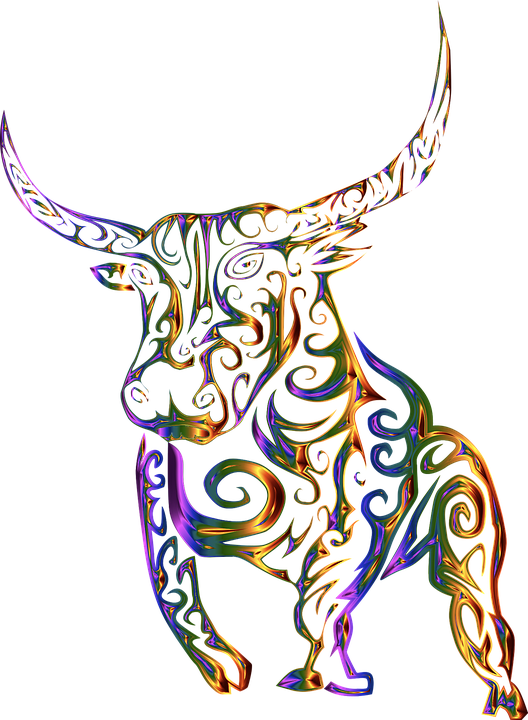 Line Art Design Abstract : Tribal bull cow · free vector graphic on pixabay