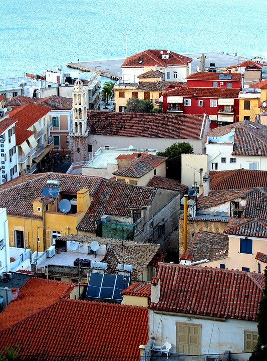 Nafplio in Peloponnese