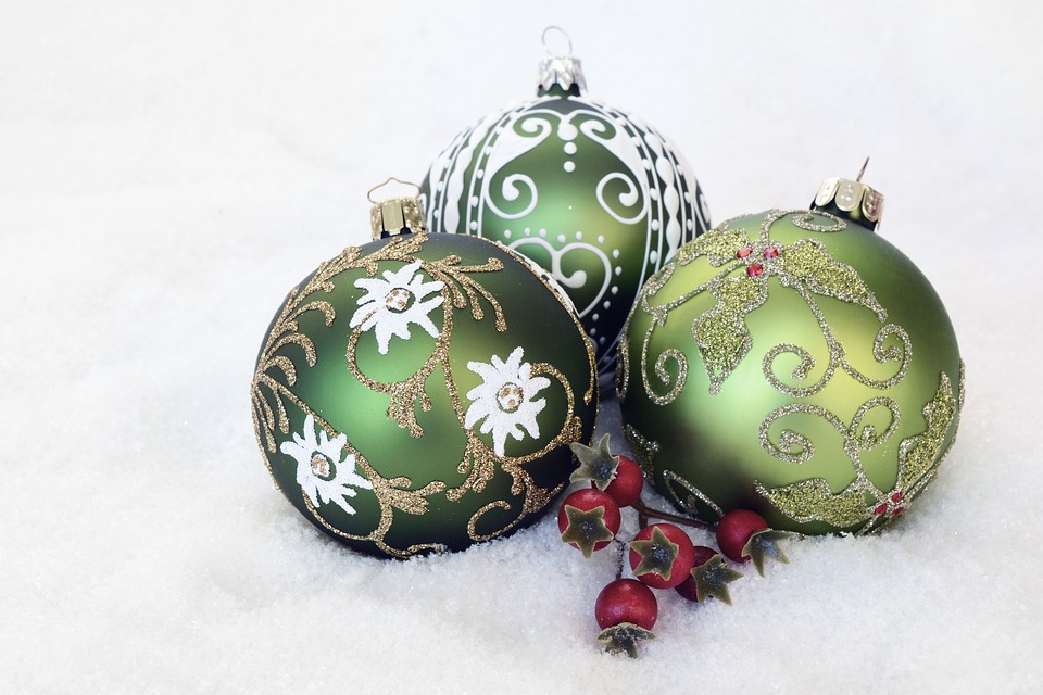 Weihnachtskugel, Advent, Weihnachtszeit, Winter