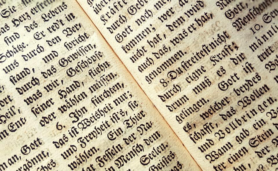 Achtergrond, Boek, Lettertype, Tekst, Oude Duitse