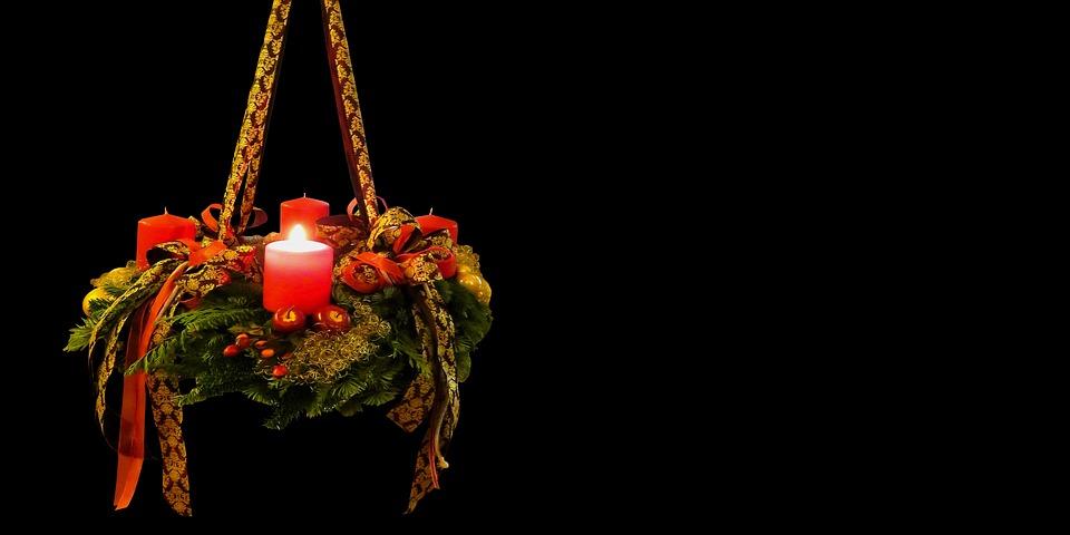 Advent Christmas Time Advent Wreath 1advent