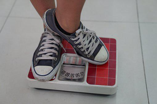 Weighing Machine, Sneakers, Weight