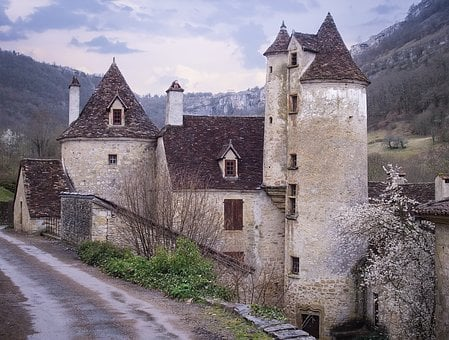 Mansion, Castle, Medieval, Architecture