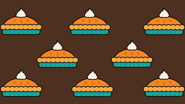 Thanksgiving, Pumpkin Pie, Pie, Dessert