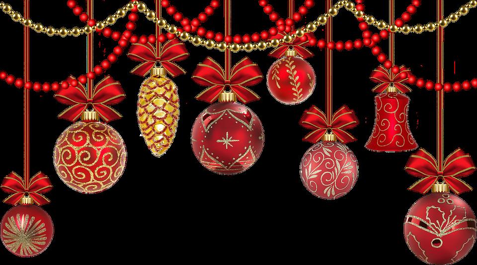 Christmas deco festive decorations free photo on pixabay - Weihnachtskugeln durchsichtig ...