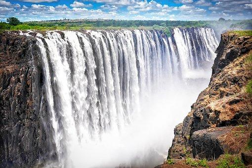 Afrika, Zimbabwe, Victoria Geval