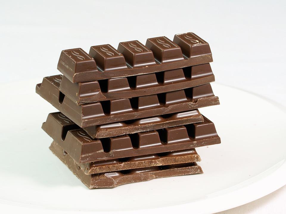 ช็อคโกแลต, หวาน, Zartbitter, บาร์ช็อคโกแลต, แทะ, อร่อย