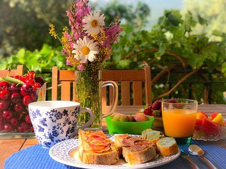 Frühstück, Alegre, Lebensmittel, Brot