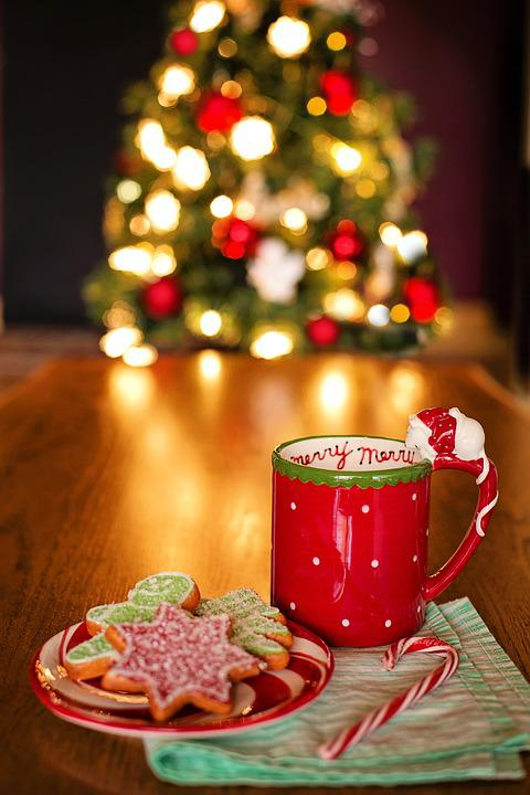 Christmas still life tree hot · free photo on pixabay