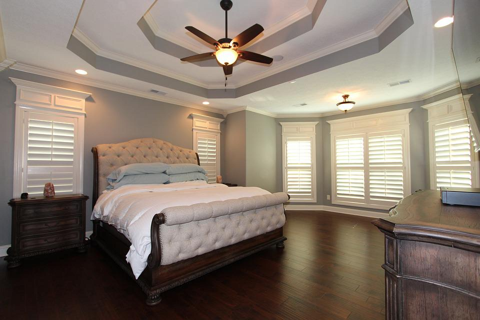 Double Tray Ceiling Master Bedroom - Free photo on Pixabay