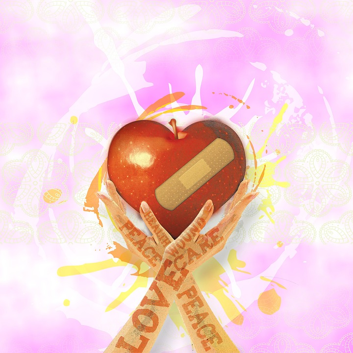 Amor, Paz, Ame, Vermelho, União, Romance, Sentimentos